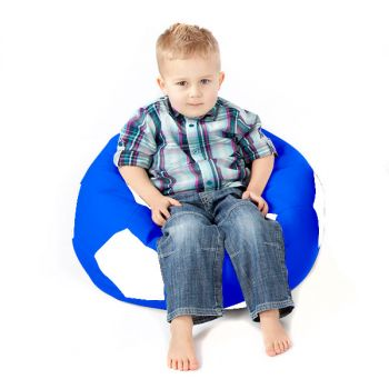 Comfy Kids Football Beanbag Chair