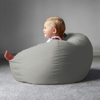 Small Kids Beanbag - Trend Platinum Grey