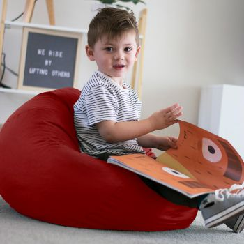 Trend Small Kids Beanbag In Red