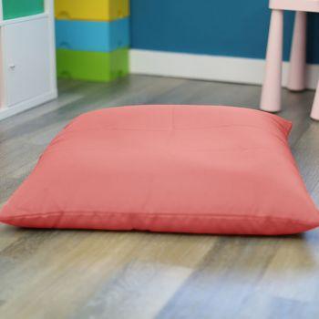 Coral Kids Trend Square Floor Cushion Bean Bag