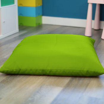 Lime Green Kids Trend Square Floor Cushion Bean Bag