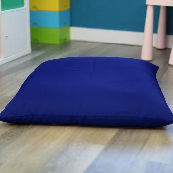 Royal Blue Kids Trend Square Floor Cushion Bean Bag