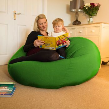 Huge Goliath Beanbag in Emerald Green