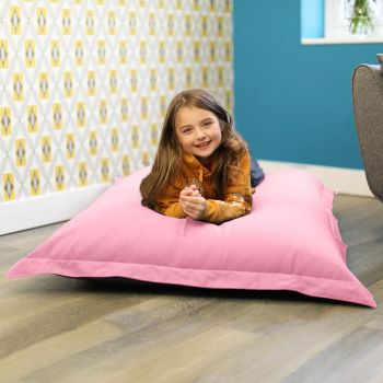 Large Squashy Squarbie™ Bean Bag - Trend - Baby Pink
