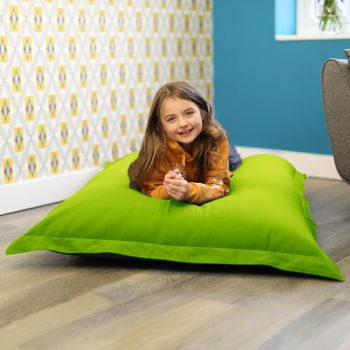 Large Squarbie Bean Bag Lime Green