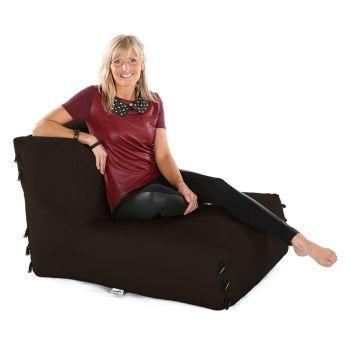 Modular Corner Sofa Brown Bean bags - Chair Only