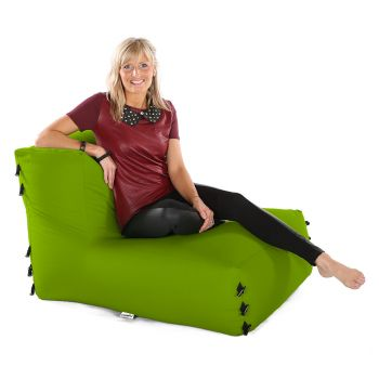 Modular Corner Sofa Olive Green Bean bags - Chair Only