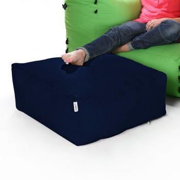 Modular Corner Sofa Navy Bean bags - Pouffe Only