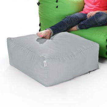 Modular Corner Sofa Platinum Bean bags - Pouffe Only