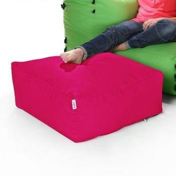Modular Corner Sofa Cerise Pink Bean bags - Pouffe Only