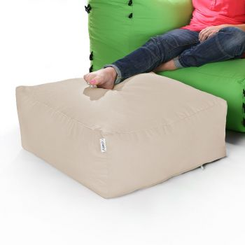 Modular Corner Sofa Stone Bean bags - Pouffe Only