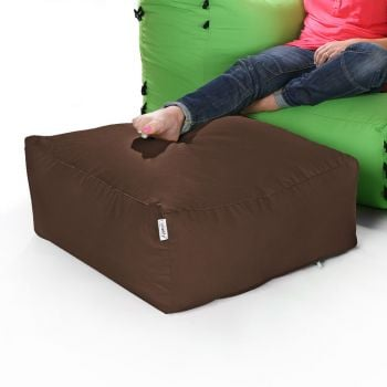 Modular Corner Sofa Taupe Bean bags - Pouffe Only