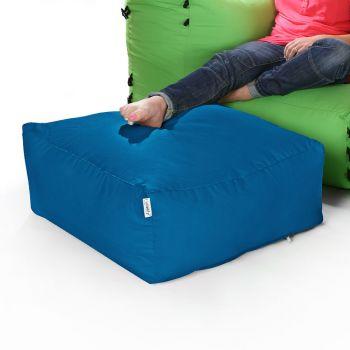 Modular Corner Sofa Teal Bean bags - Pouffe Only