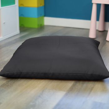 Grey Trend Adult Square Floor Cushion