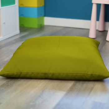 Olive Green Trend Adult Square Floor Cushion