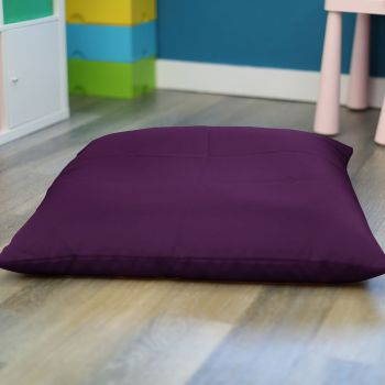 Purple Trend Adult Square Floor Cushion