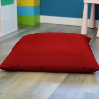 Red Trend Adult Square Floor Cushion