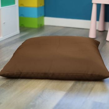 Taupe Trend Adult Square Floor Cushion