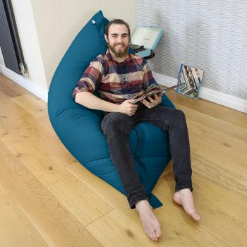 Giant Squarbie™ Bean Bag in teal