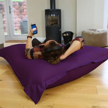 Purple Giant Squarbie Bean Bag