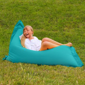 Extra Large Squarbie Adult Beanbag in Turquoise