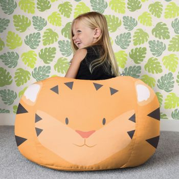 Tiger Animal Kids Beanbag