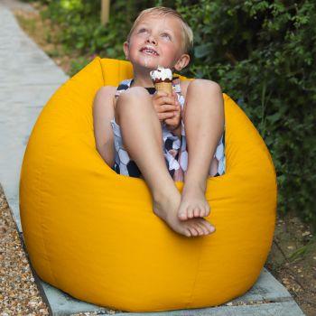 Yellow Indoor/Outdoor Kids Classic Beanbag