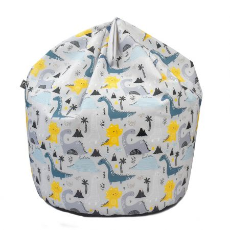 Dinosaur Island Kids Beanbag with handle