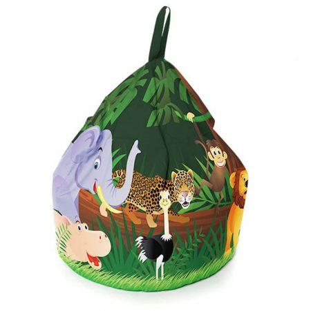 Mighty Jungle Animal Handle Beanbag - Small