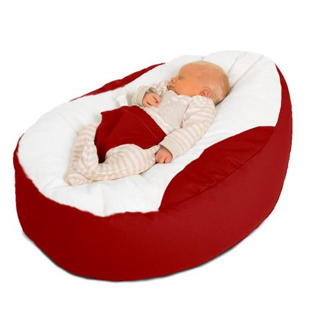 Trend Gaga Baby Beanbag in Red