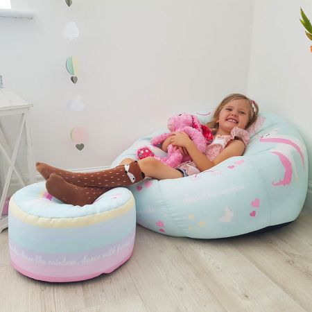 Kids Unicorn Beanbag