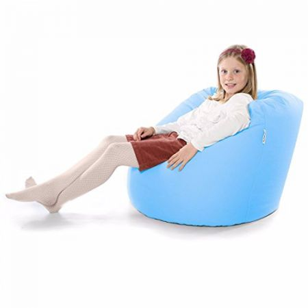 Large Handle Beanbag - Trend - Baby Blue