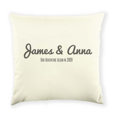 Personalised Your Adventure Cushion