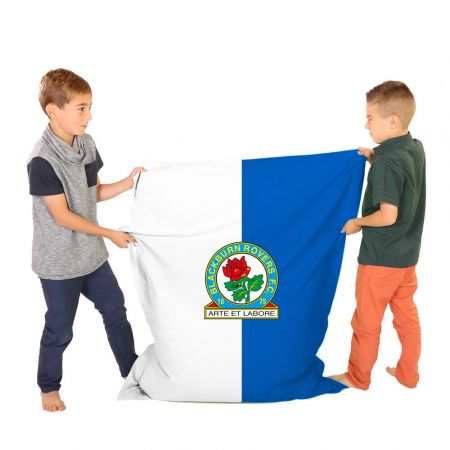 Blackburn Rovers Junior Squarbie Beanbag