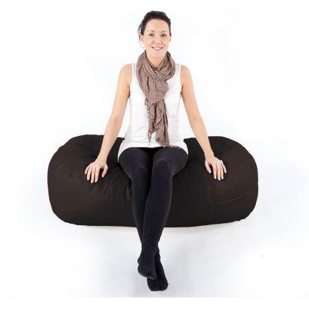 4ft Ottoman Bean Bag - Trend - Brown