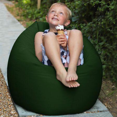 Bottle Green Indoor/Outdoor Kids Classic Beanbag