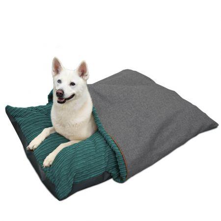'Burrower' Dog Bed - Large - Teal