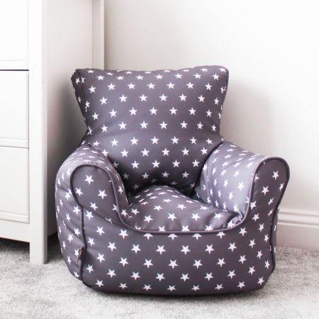 Stars pattern toddler bean bag chair