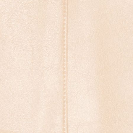 Faux Leather Cream Fabric