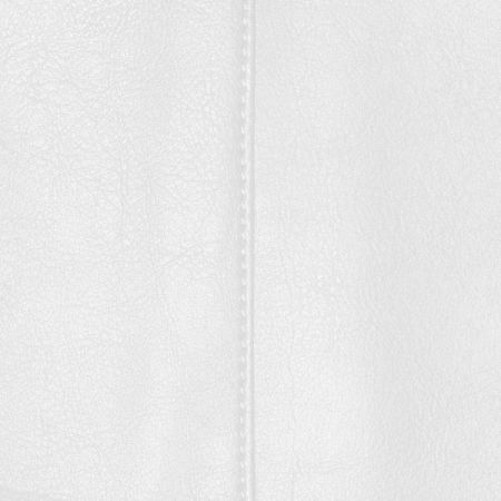 Faux Leather White Fabric