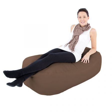 Faux Suede 4ft Ottoman Beanbag Lounger