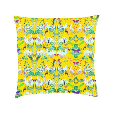 Heron Garden Scatter Cushion