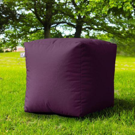 Cube Beanbag Purple