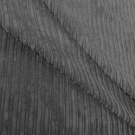 Jumbo Cord Grey Fabric