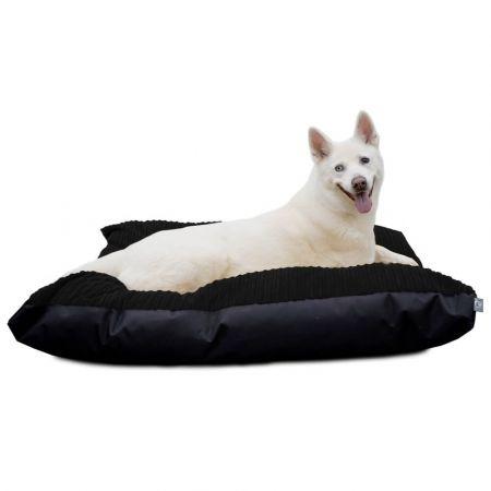 Pet Bed - Jumbo Cord Large Black