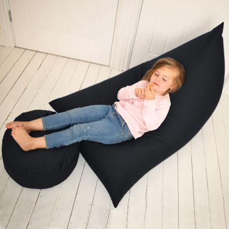 Humbug Beanbag - Junior - Indoor/Outdoor - Black
