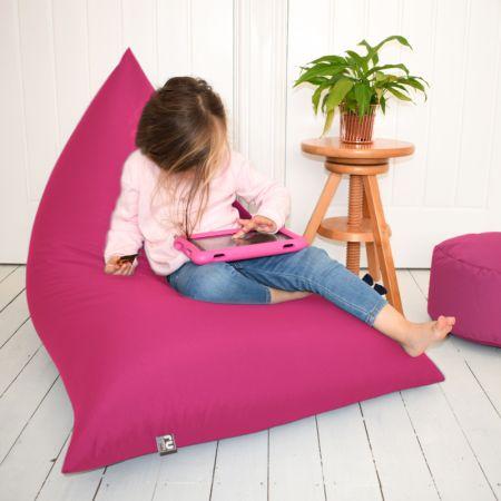 Humbug Beanbag - Junior - Indoor/Outdoor - Cerise Pink