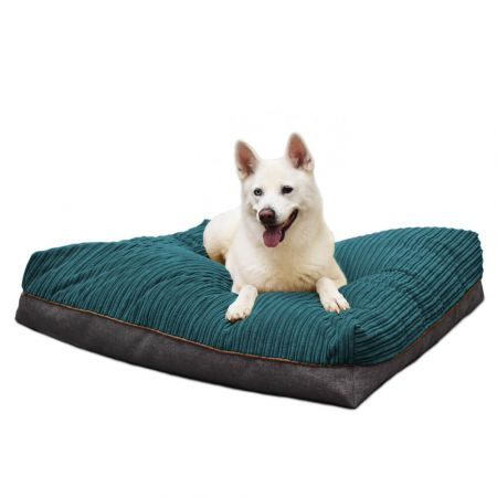 'Flip-It' Dog Bed Mattress - Large - Teal