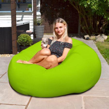 Indoor Outdoor Goliath Beanbag in Lime Green