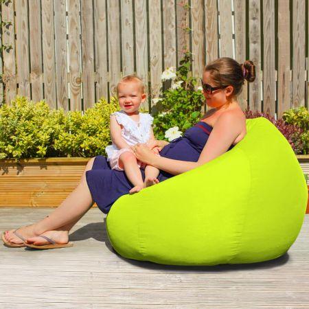 Slouchbag Indoor/Outdoor Beanbag in Lime Green